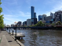 The Yarra River and Melbourne